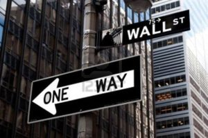 wall street one way